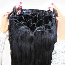 hair clip ins clip in volumizing hair extensions locks