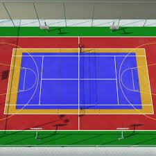 multi sports court backyard multi sport game court yard pinterest