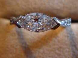 wedding band that will go with my east west oval e ring my new ring custom from greenlake jewelry works the time