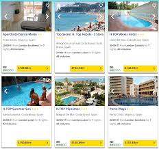 cheap all inclusive holidays to various destinations for 7 nights