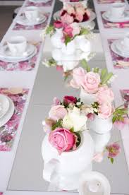 tea party table tea party table decoration ideas with flowers 17 best ideas