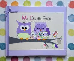 chambre hibou tableau déco rigolo chambre d enfant famille chouette hibou violet
