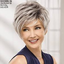 frosted gray hair pictures gray wigs gray hair wigs paula young