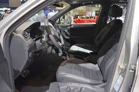 volkswagen tiguan r line vw tiguan r line front seats at 2017 dubai motor show indian