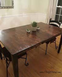 How To Build A Reclaimed by Sturdy Colossal Diy Rustic Room Table Thriftdiving Blog Colossal