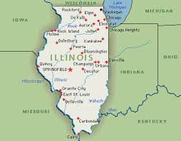 illinois map usa twt travel binder illinois travels with two