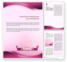 modern interior design word template 02808 poweredtemplate com