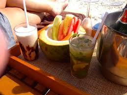 fruit treats cabana fruit treats drinks picture of excellence riviera