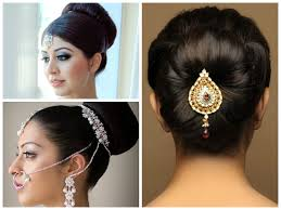 indian bridal hairstyle indian wedding hairstyle ideas medium length hair world diy