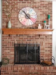 painted brick fireplace makeover design ideas loversiq