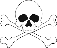 skull coloring pages the sun flower pages