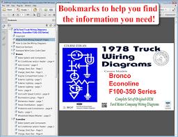 forel publishing llc 1978 ford truck wiring diagrams f100 ebook