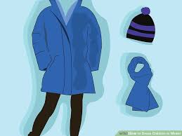 how to dress children in winter 13 steps with pictures