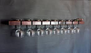 wine glass rack stemware rack wall mounted stemware rack