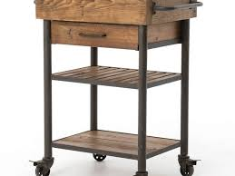 wood kitchen island cart kitchen kitchen islands and carts and 51 industrial reclaimed