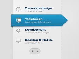 website menu design beautiful exles of web page menu design the design work