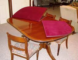 dining room table pads dining tables awesome custom made dining room table pads oval