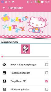kharis lizer bbm mod hybrid v3 0 bbm tema kitty edition