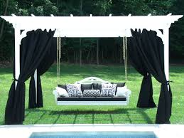 swing pergola 8x10 pergola set with outdoor curtains