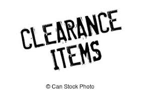 vector illustration of clearance items rubber st grunge design