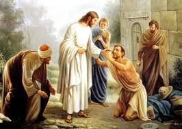 Blind Christian Jesus Heals A Blind Man John 9