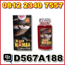 jual obat pembesar alat vital pria permanen black mamba oil asli cod