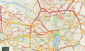 traffic map map of dc area traffic right now popville