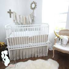 Nursery Bedding Sets Neutral Grey And White Baby Bedding Euprera2009