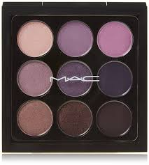 amazon com mac eye shadow x 9 purple times nine beauty