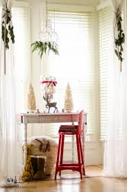 dining room decked out for christmas sew a fine seam