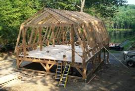 Setting Pole Barn Posts How To Design Pole Barn Kits With Gambrel Roof Things I Need In