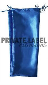 blue hair extensions silky hair extension packaging bags various colors