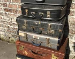 etsy vintage home decor vintage suitcases etsy