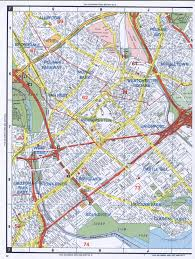 Road Map Of United States East Bronx Road Map