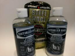 Wood Kitchen Cabinet Cleaner 2 Wood Finish Rejuvenator U0026 Steel Wool Free Shipping