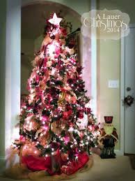 ideas gold most christmas trees decorated with red ribbon