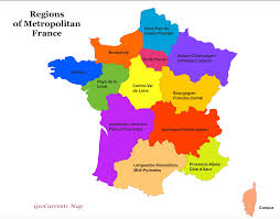 Calais France Map by Customizable Maps Of France And The New French Regions Geocurrents