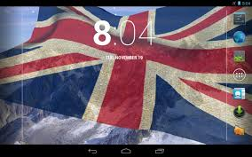 Great Britain Flag 3d Uk Flag Live Wallpaper Android Apps On Google Play