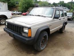 tan jeep cherokee sell 95 96 jeep cherokee rh right passengers used oem tan manual