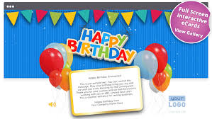 birthday email cards corporate birthday ecards employees clients happy birthday cards