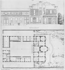 le petit trianon floor plans hôtel de bourbon condé floor plan and elevation disegno