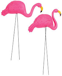 flamingo pink yard ornaments z novelties