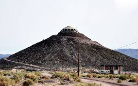 huell howser volcano house huell howser s california house atop a 150 foot desert volcano now