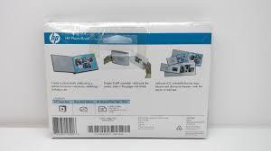 5x7 photo book hp 5x7 blue photo book includes software adv glossy paper q8784a