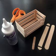 craft stick crate art projects for kids