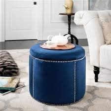 home decorators collection farrow peacock accent ottoman