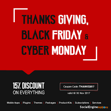 thanksgiving deal 15 discount on black friday cyber monday