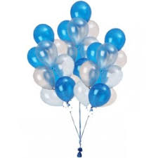 bunch of balloons blue balloon bunch gifts flower delivery in lebanon balloons beirut