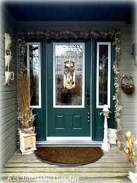 Outdoor Christmas Decorating Ideas Apartment by A Christmas Door Decoration For Holiday Spirit