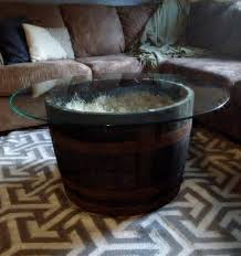 coffee table stunning whiskey barrel coffee table images ideas